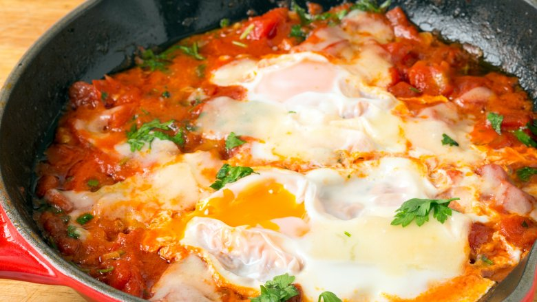Italy egg cooking