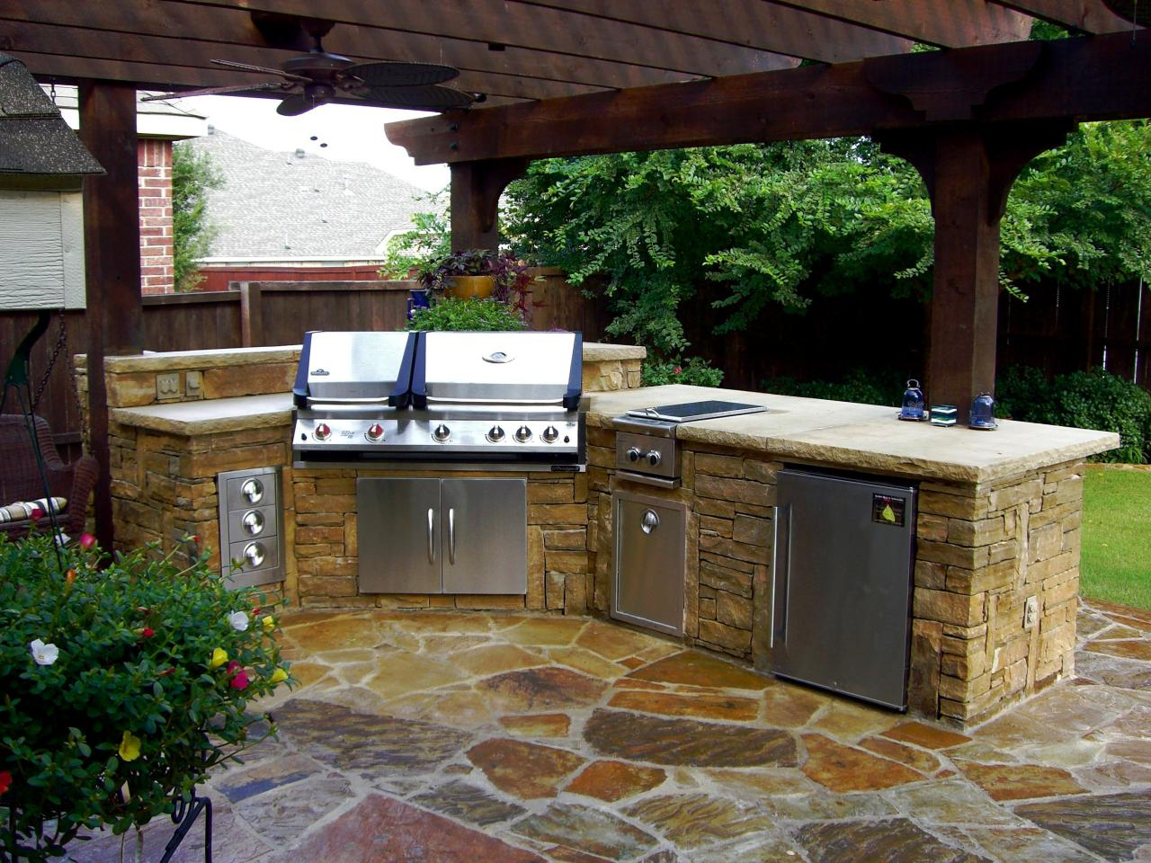 Creating A New Outdoor Kitchen Upload Article