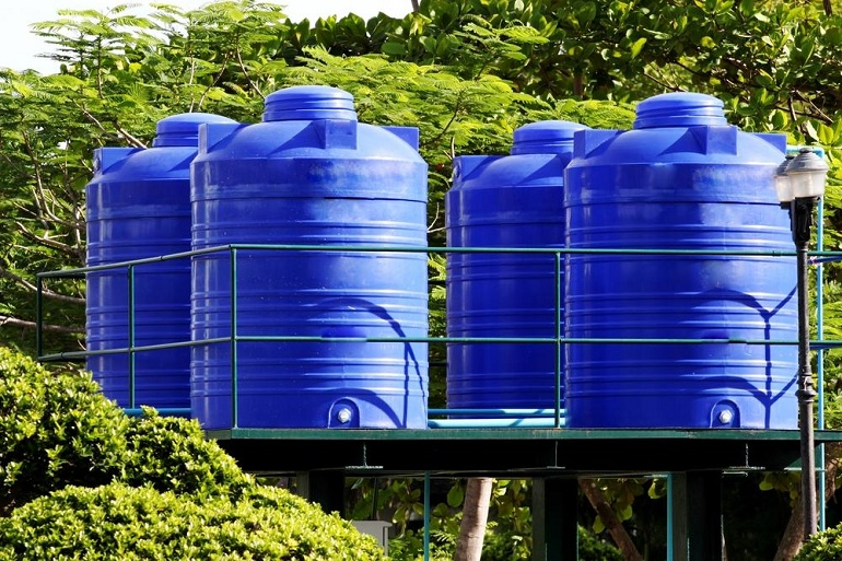 Environmental Storage Tank