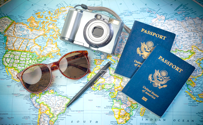 Passport Traveling