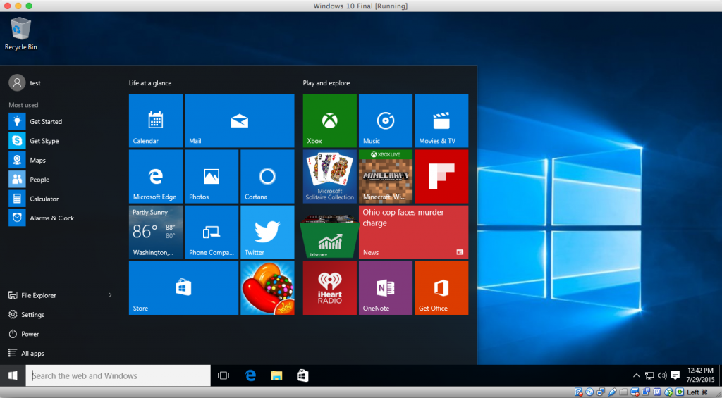 Microsoft With Windows 10