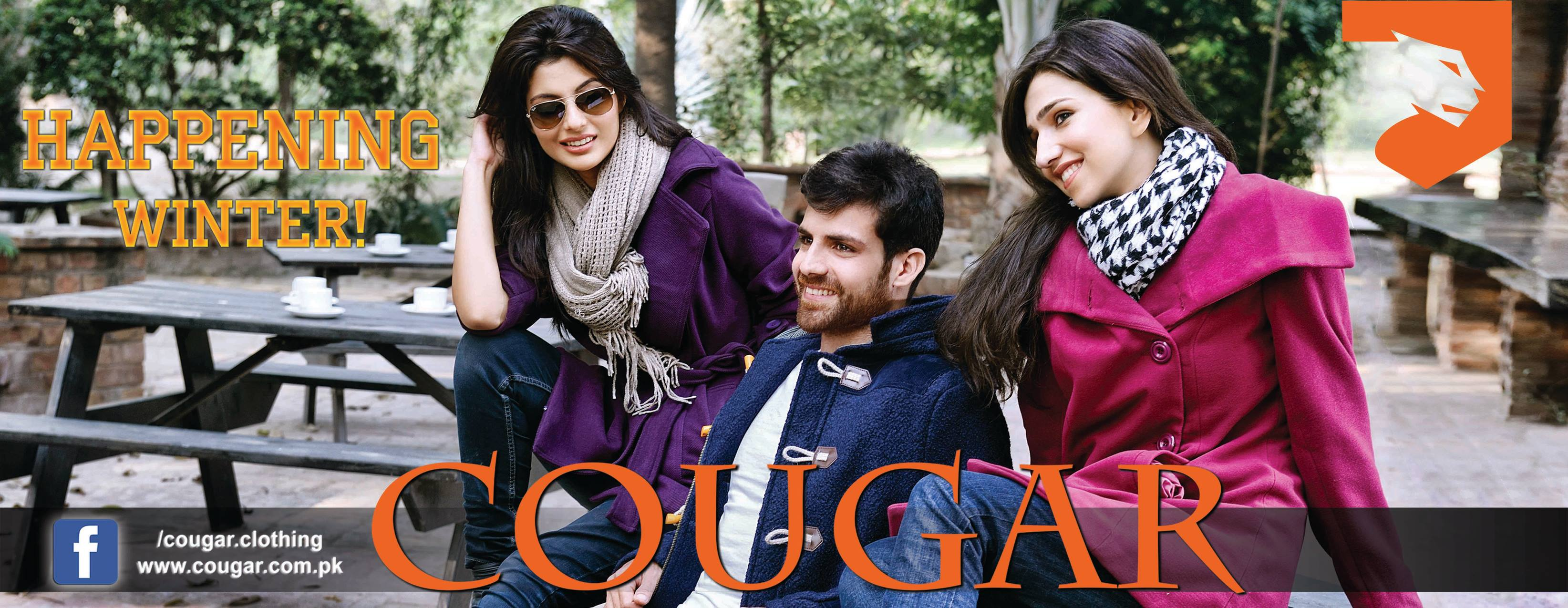 cougar new arrival winter collection
