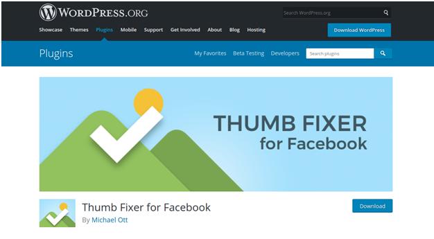 Facebook Thumb Fixer