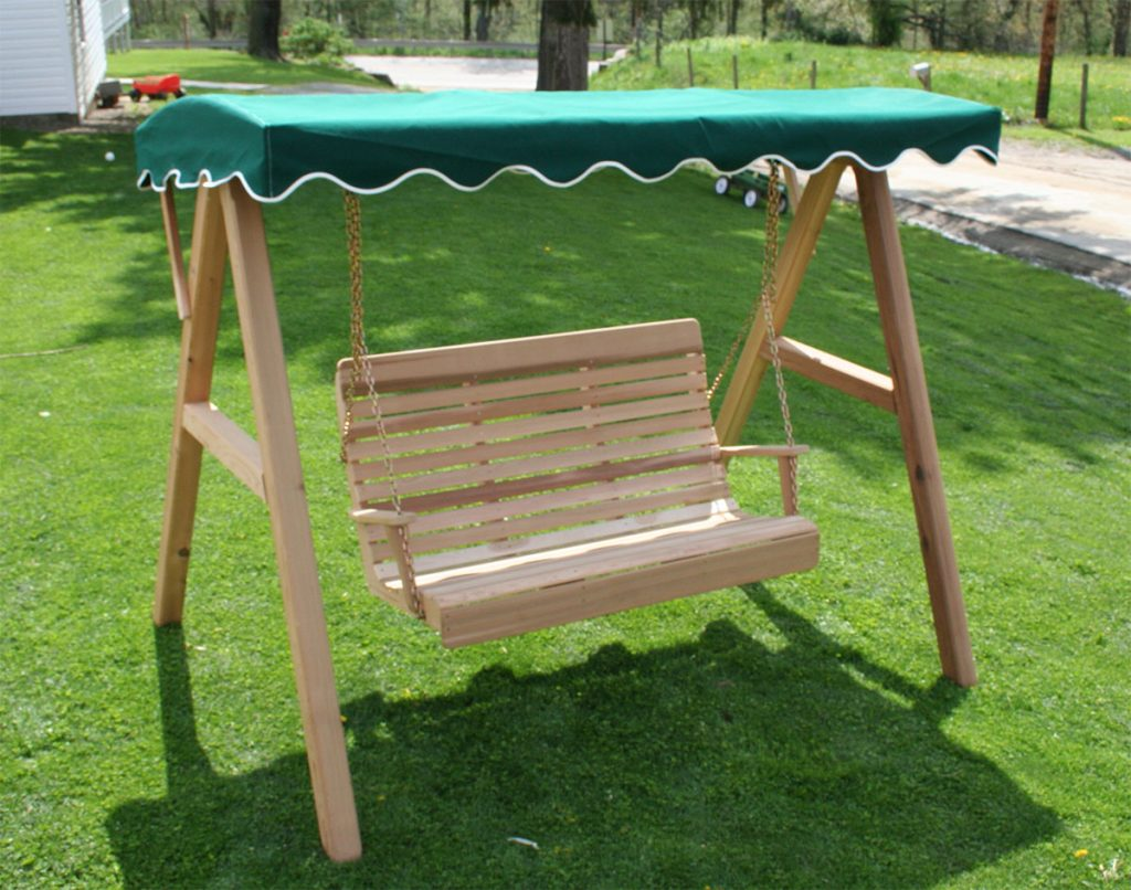 Teak wooden swings
