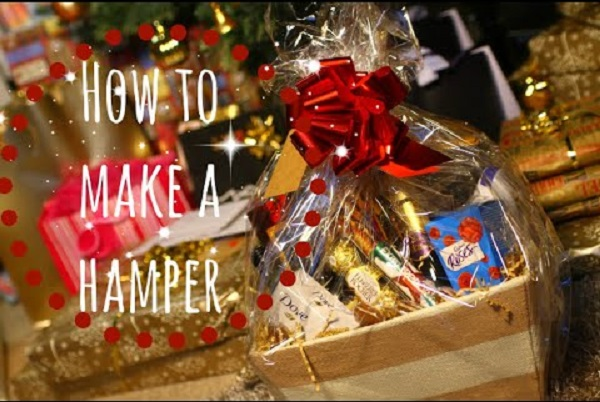 Christmas Hamper food