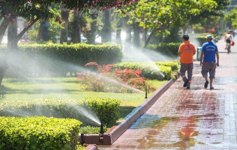 Sprinkler systems garden