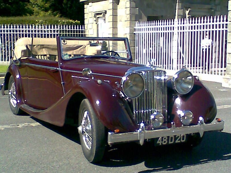 Jaguar Car 1936