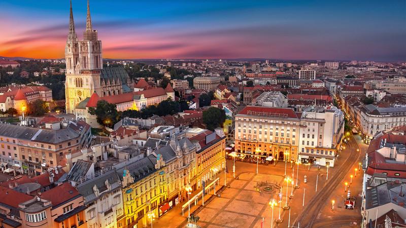 Zagreb Croatia Cities