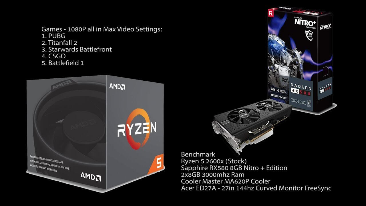 AMD Ryzen 5 2600X game