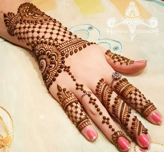 Bracelet Mehandi Designs