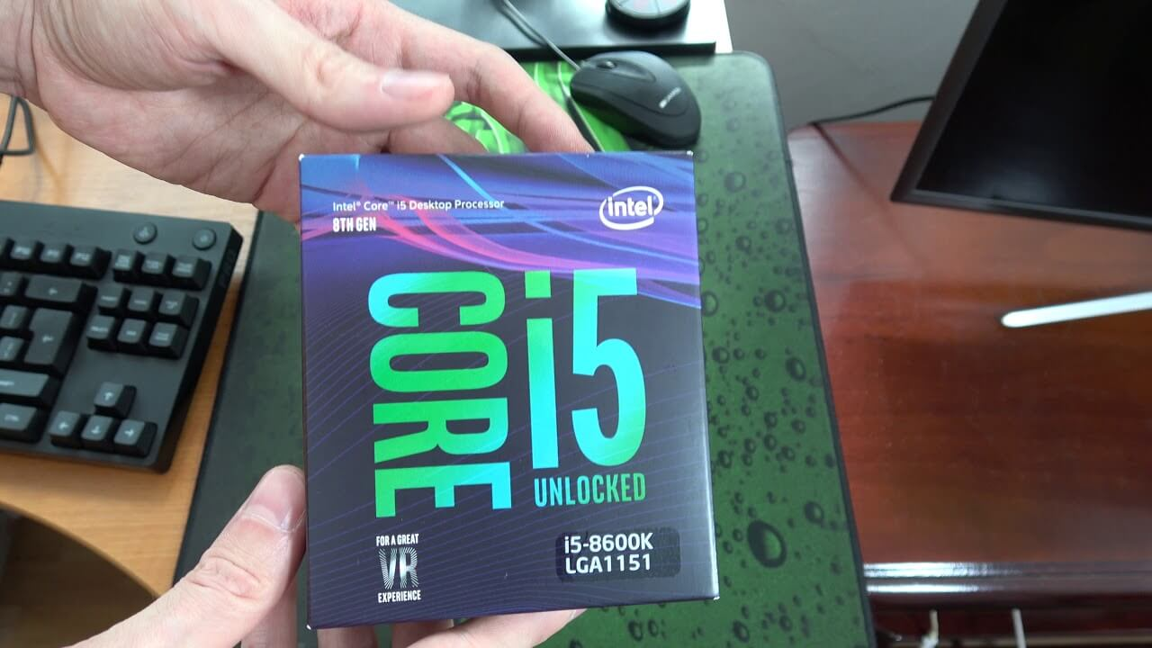 Intel Core i5-8600K game