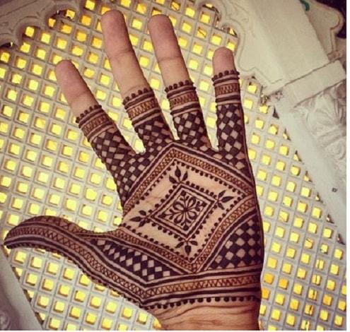 Moroccan Mehandi Designs