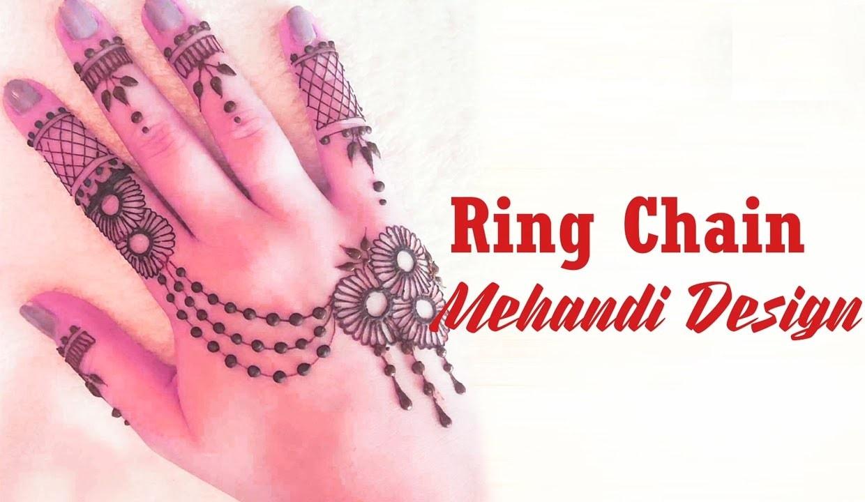 Ring Mehndi Designs