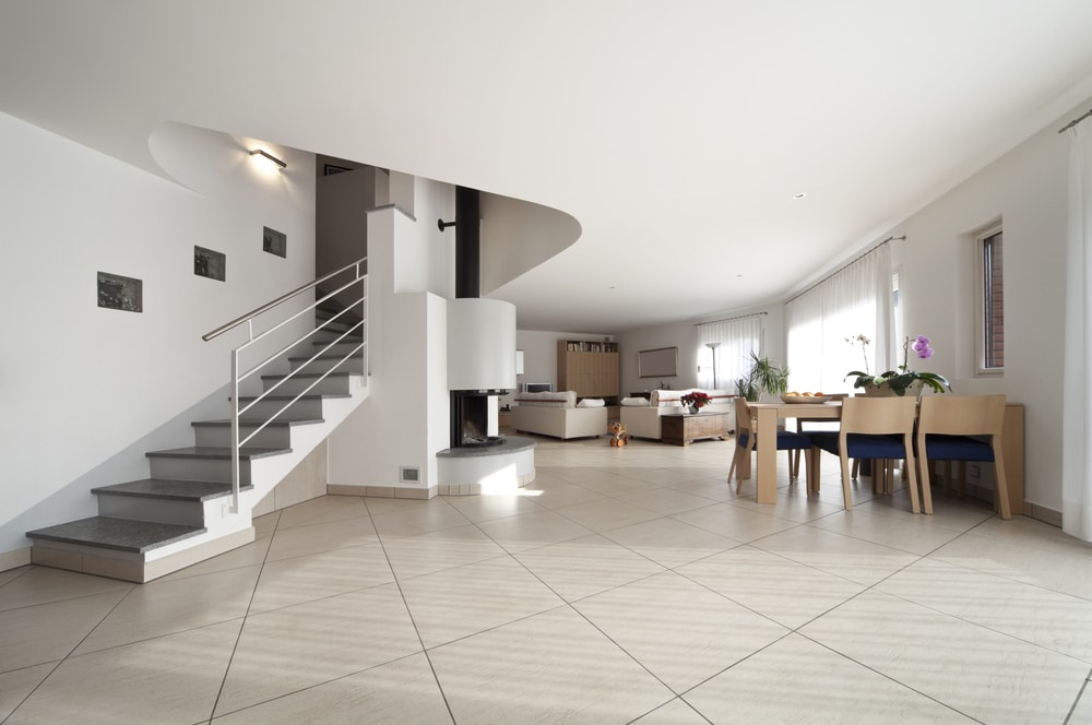 Modern Home Tile Flooring