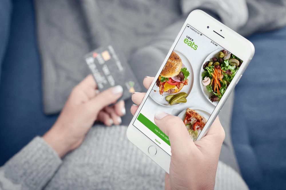 Uber Eats app food