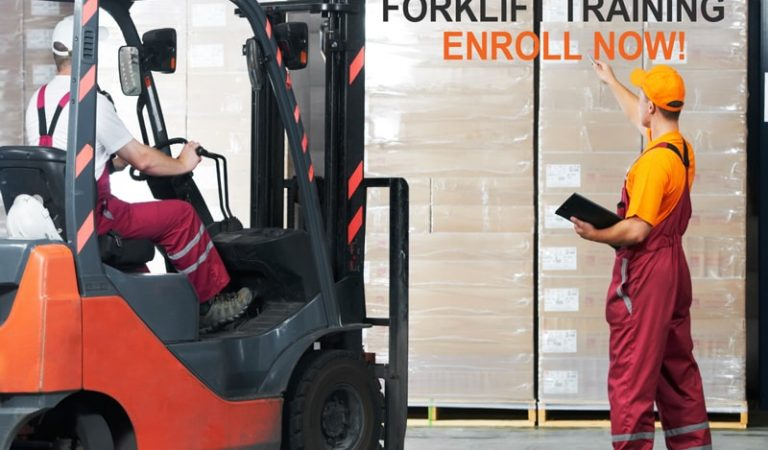 The Steps You Need To Take For Forklift Training And License In Surrey