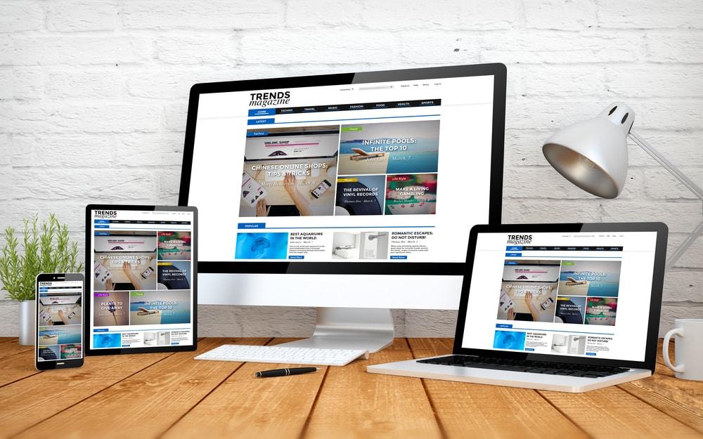 Asymmetrical Layouts Web Design