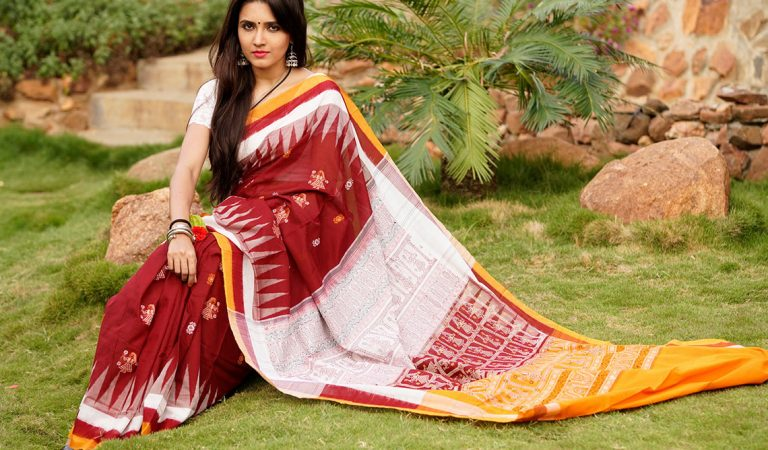 The History of Bomkai Saree