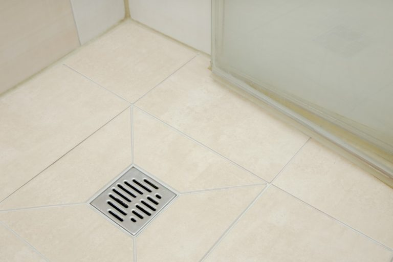 Clean Shower Drain