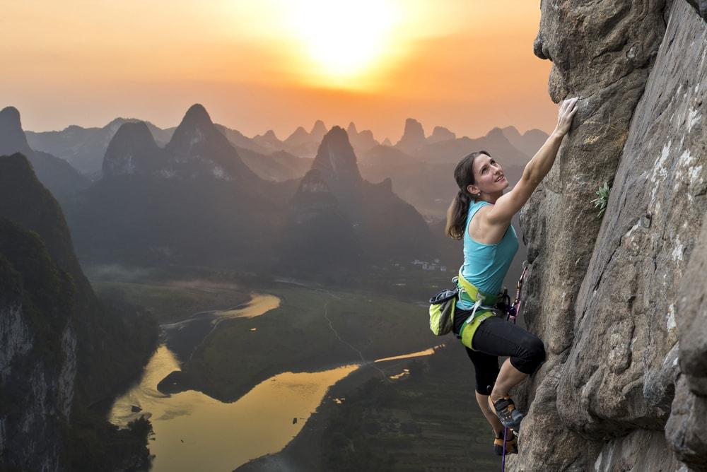 Dangerous Sports Free Climbing