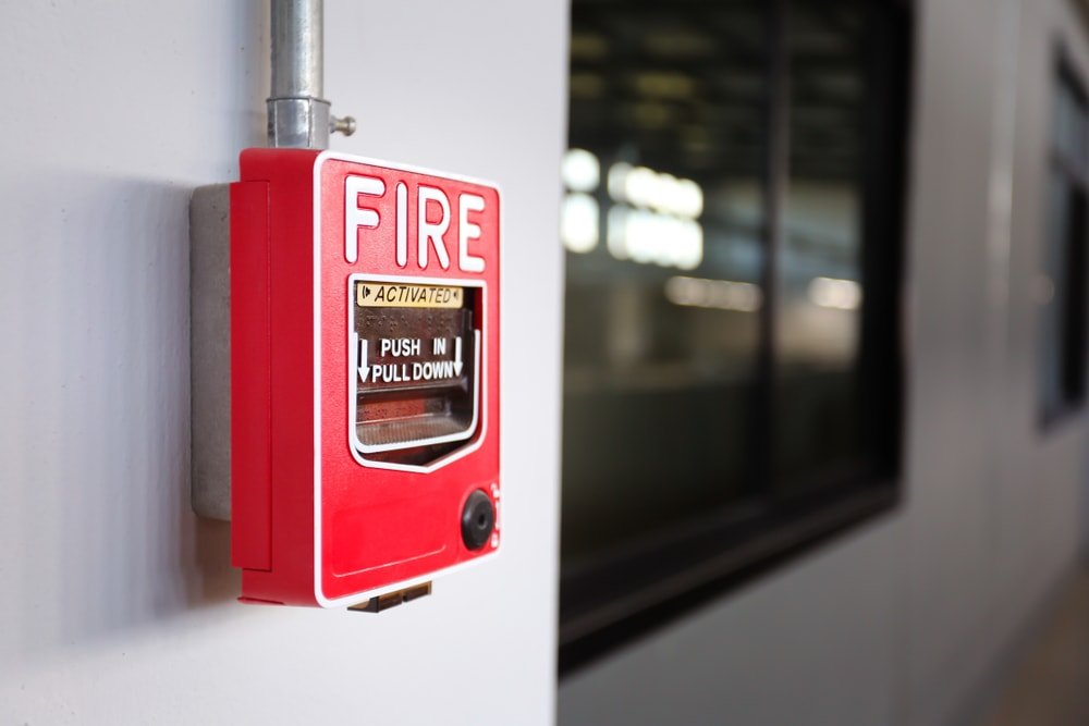 E-Cigarettes fire alarms