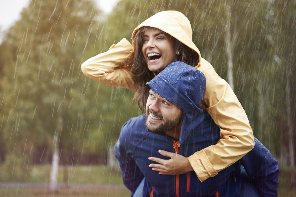 Hooded Rain Jacket winter