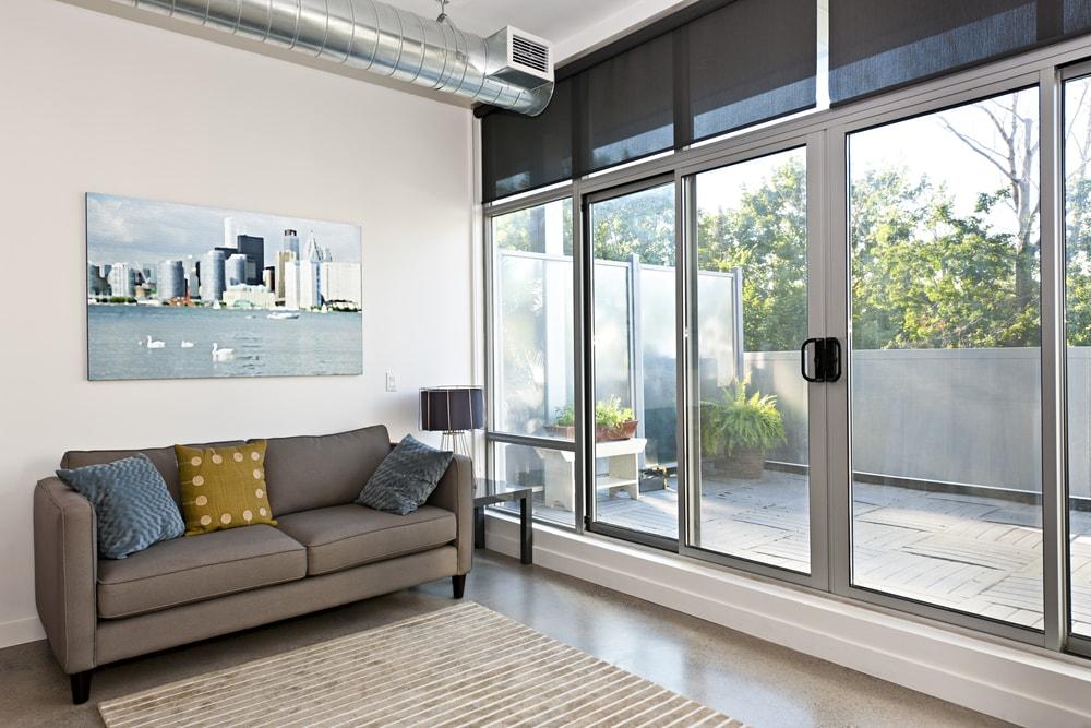 Illumination Glass Doors And Windows