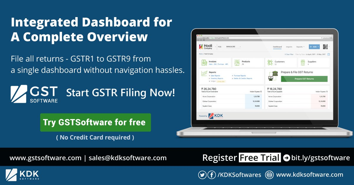 KDK GST Software