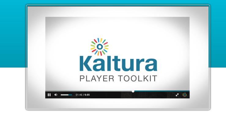Best HTML5 Video Players Kaltura