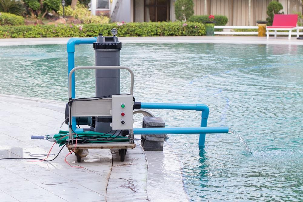 Scrub filter Swimming  pool