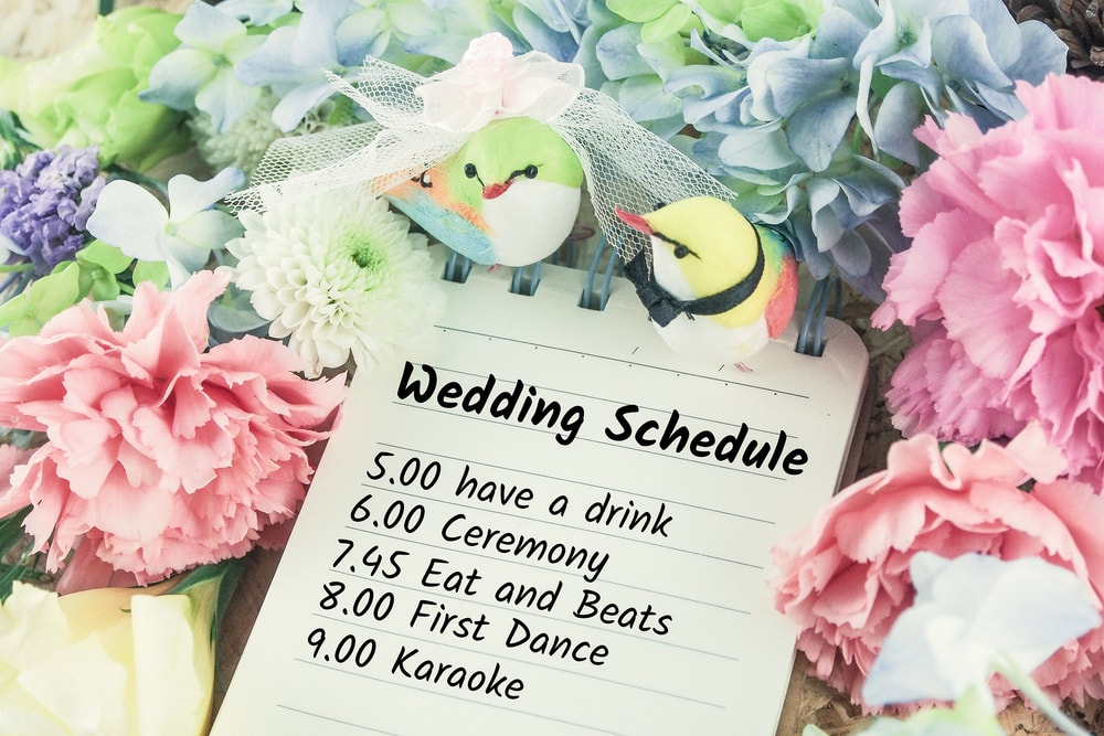 Wedding Schedule