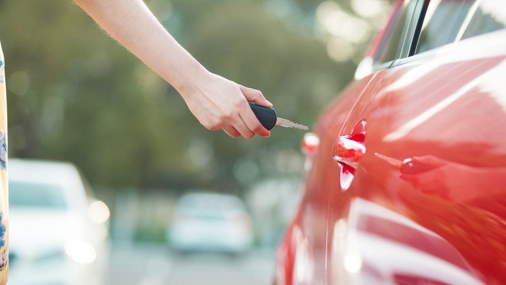 Replacing car key fob