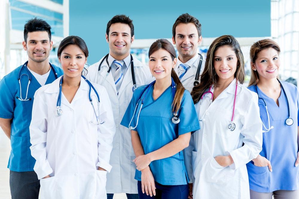 Midwives Nurses medical staff