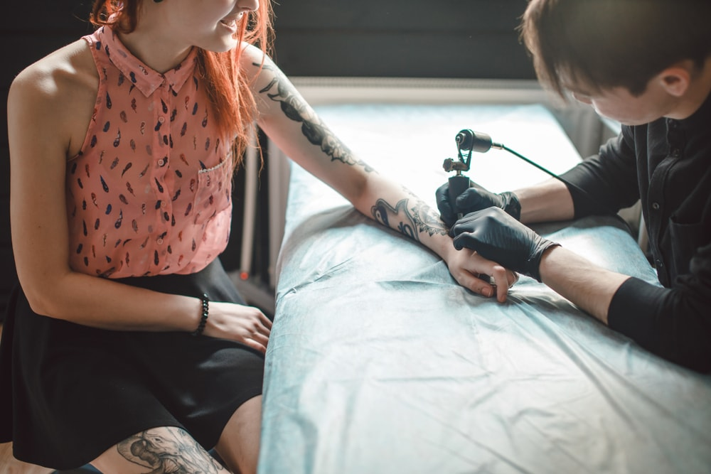 Getting Inked tattoo