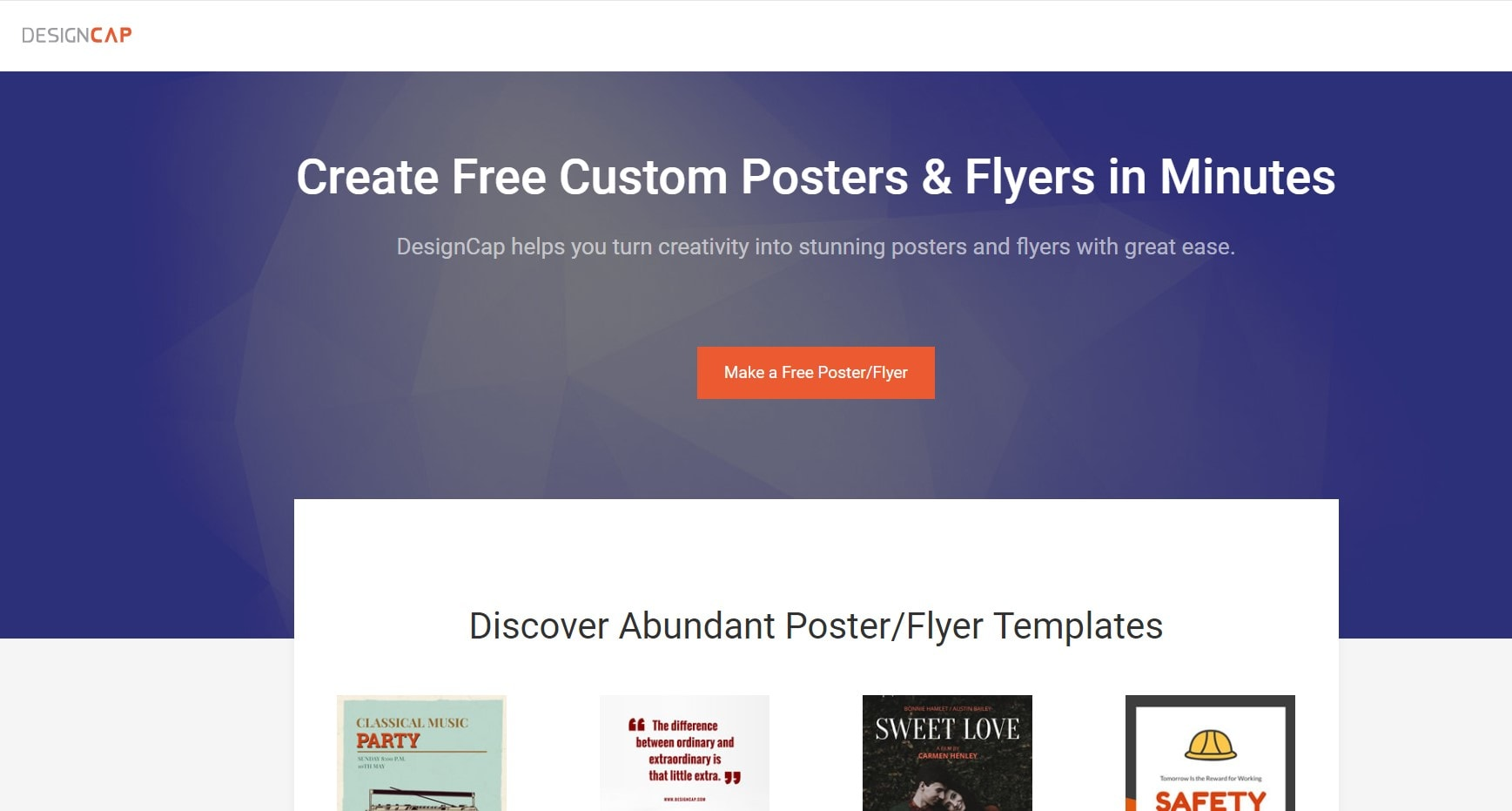 Online Poster Makers DesignCap