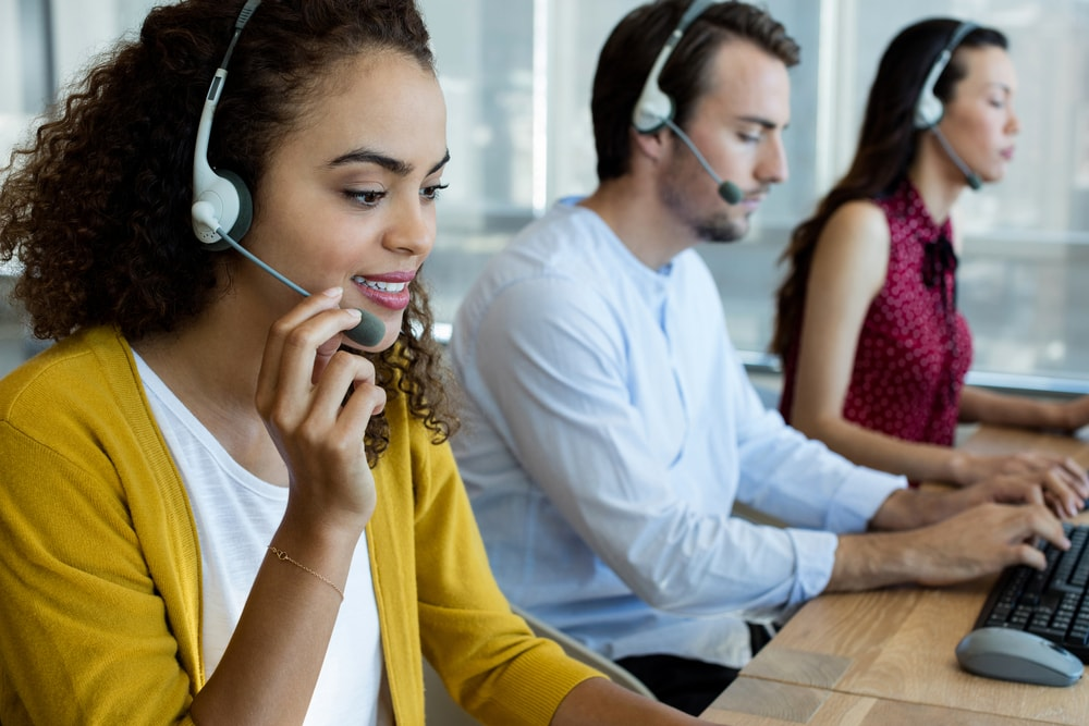 Customer Service Management call center
