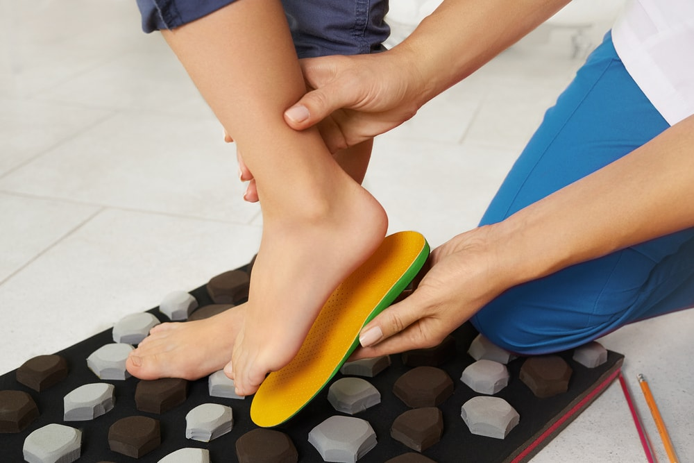 Wearing Orthotics