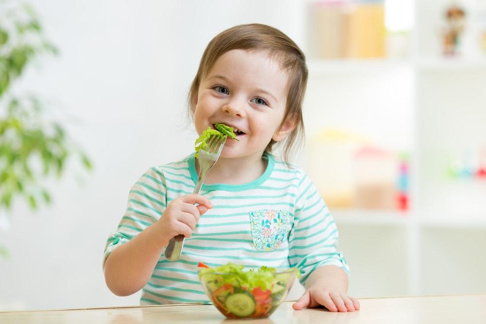 Vegetables Child eat