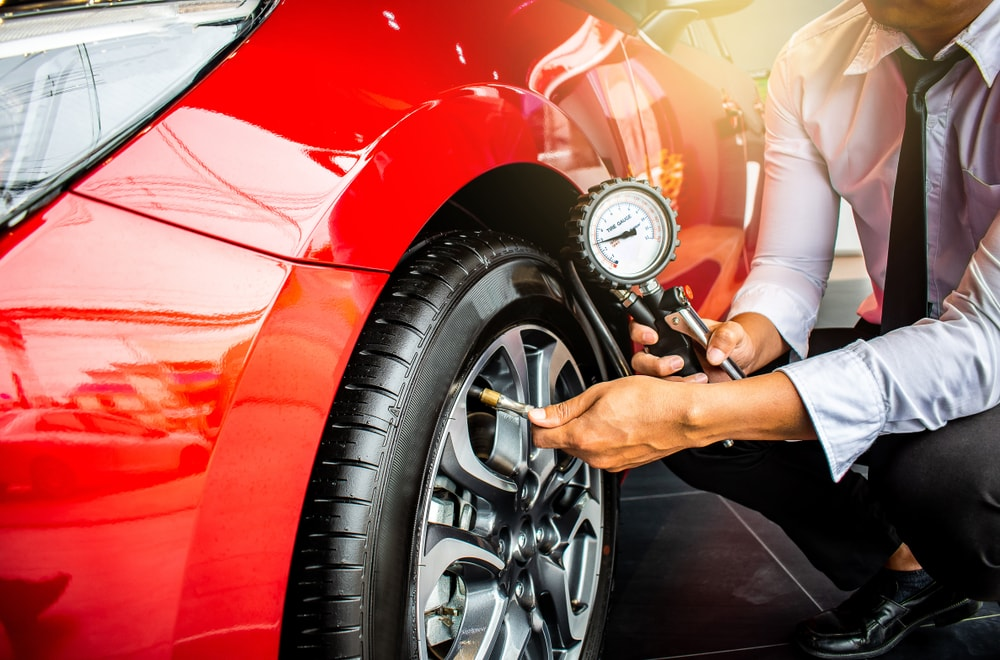 Vehicle Tire Inflator