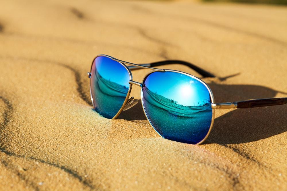 Polarized lenses sunglasses