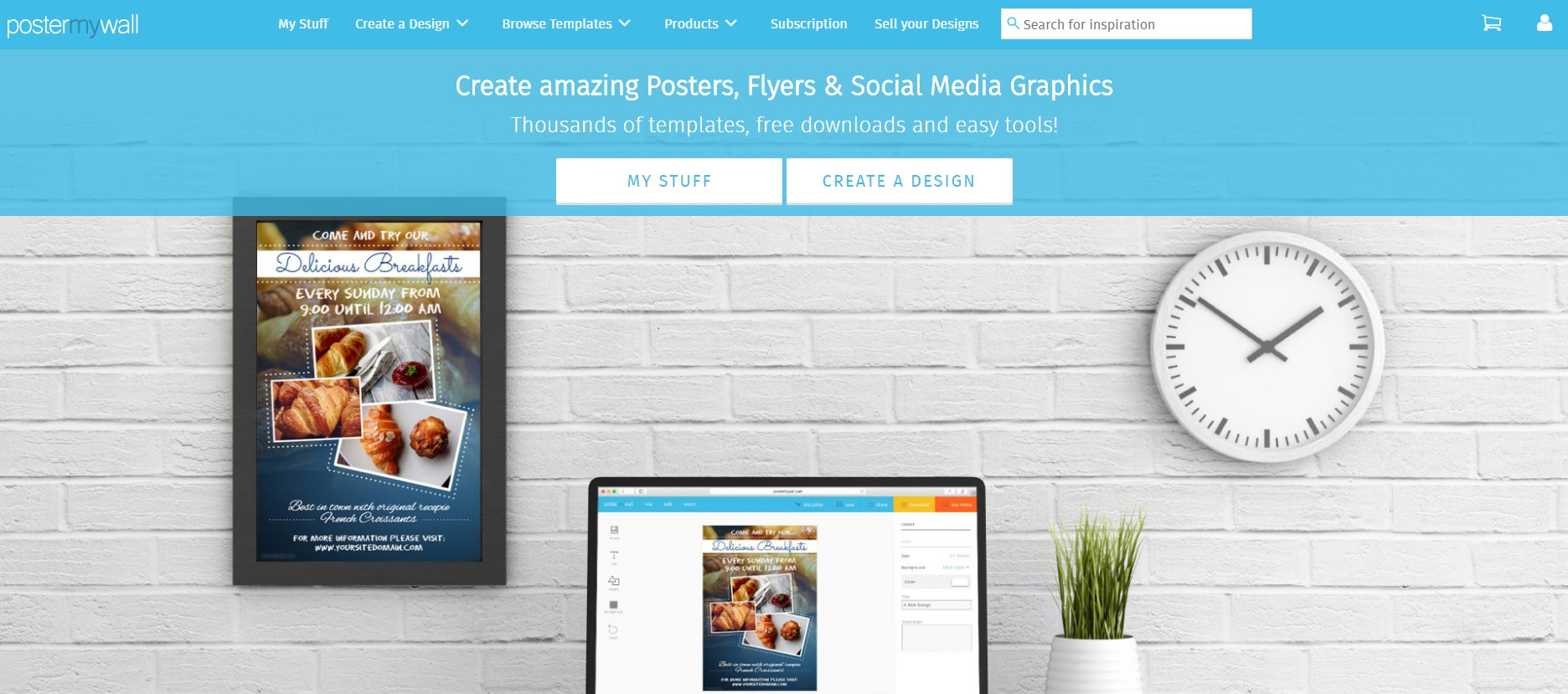 Online Poster Makers postermywall