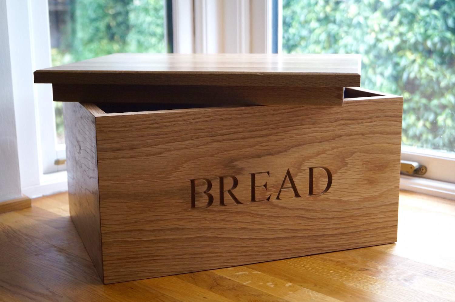 Wooden Bread Boxes