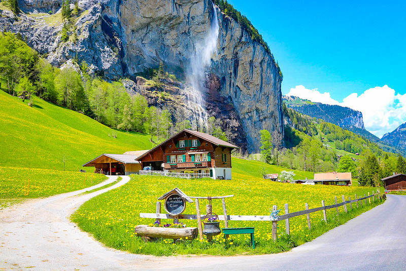 Image result for switzerland waterfalls