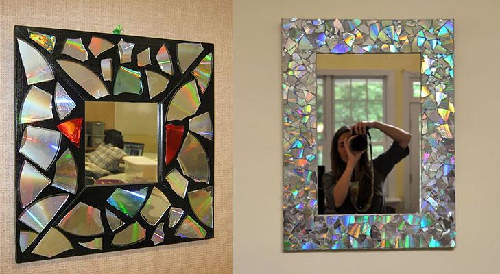 Abalone Mosaic Mirror