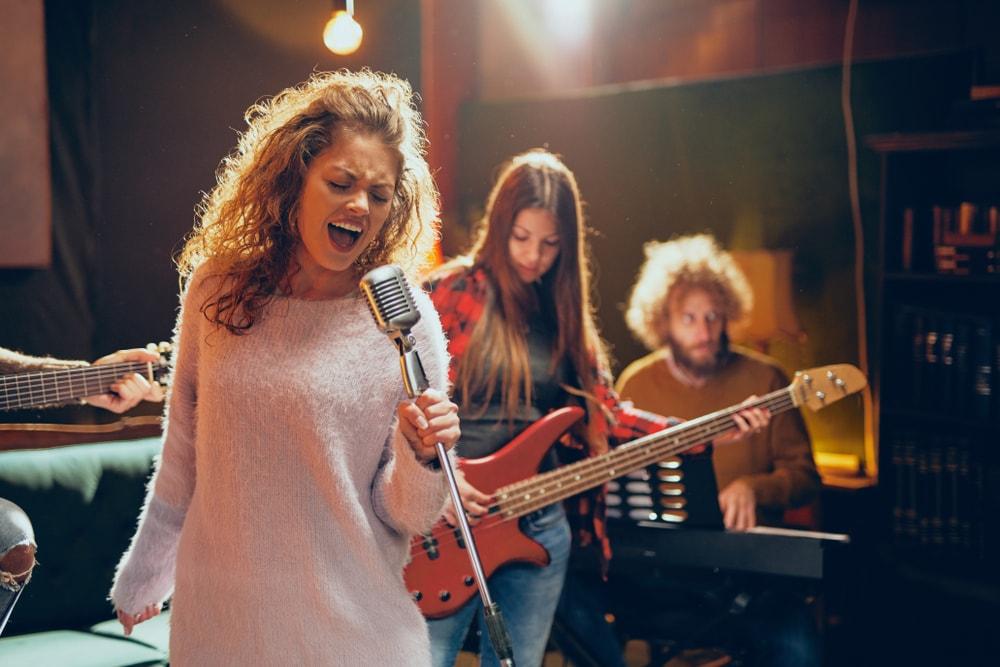 Practice singer