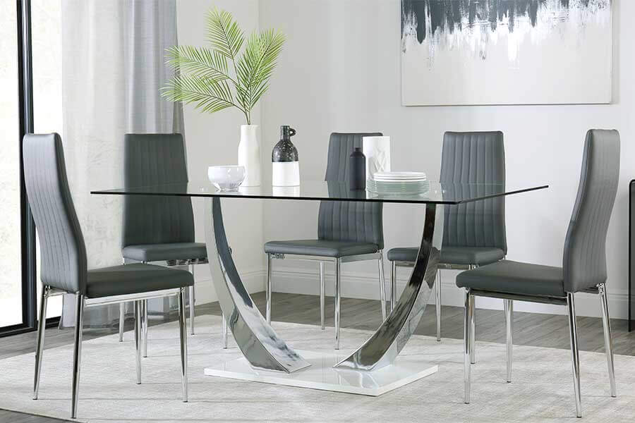 Glass Table Sets