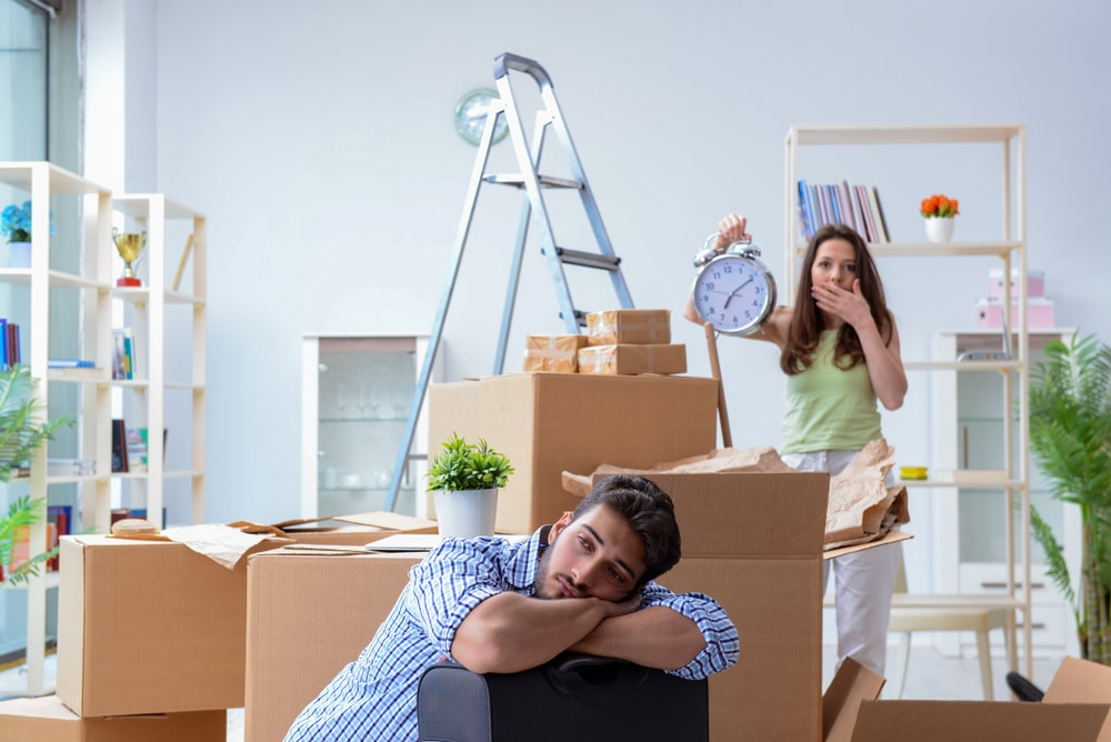 Wrong time home Packers Movers