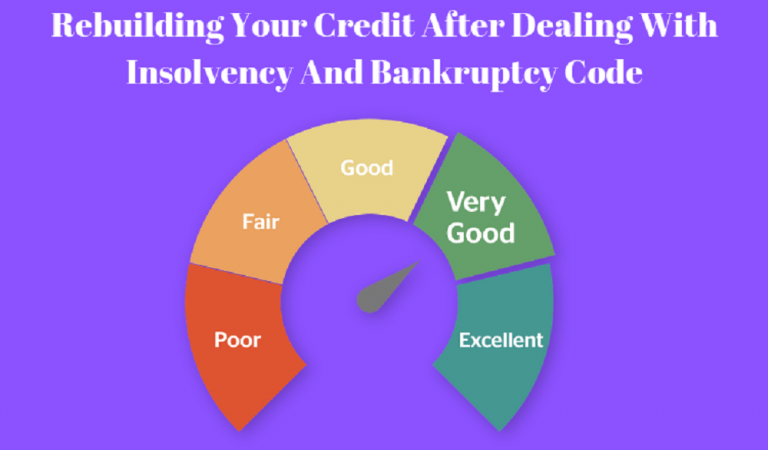 Rebuilding Your Credit After Dealing With Insolvency And Bankruptcy Code