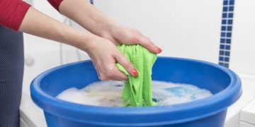 Clothes hand wash