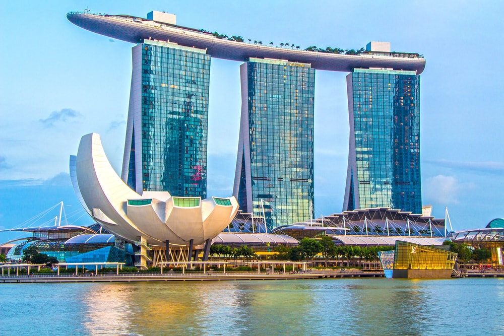 Marina Bay city